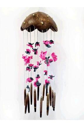 Turkuaz hediyelik Coco-renkli Kabuklu Rüzgar Çanı 2