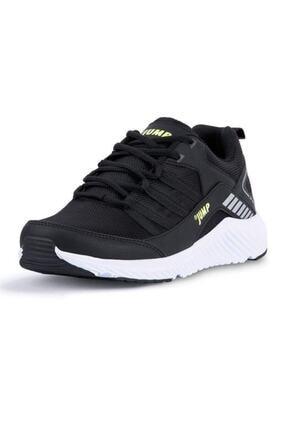 Jump 24865 Siyah - Neon Yeşil Erkek Spor Ayakkabı 1