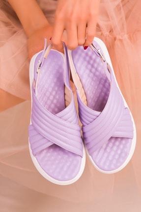 Soho Exclusive Lila Kadın Sandalet 16208 2