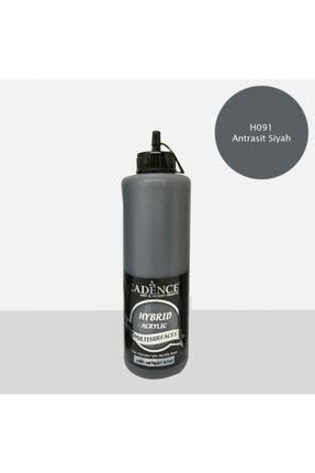 Cadence Boya Hybrid Multisurface Akrilik Boya 500 Ml. H-091 Antrasit Siyah 0