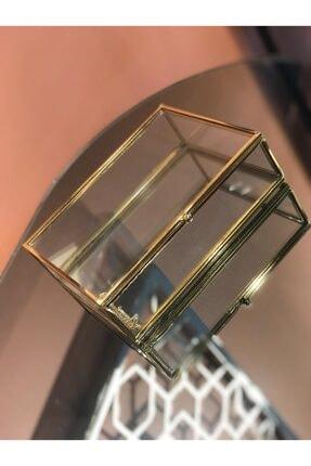 Metal Detaylı Cam Kutu METAL DETAYLI CAM KUTU