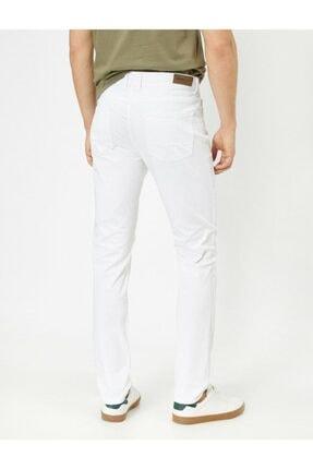 Koton Erkek Cep Detaylı Slim Fit Pantolon 2