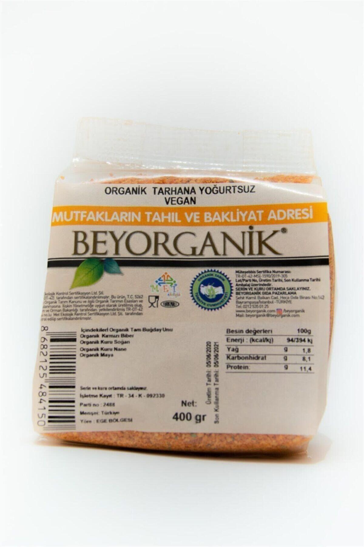 Organik Tarhana Yoğurtsuz Vegan 300gr