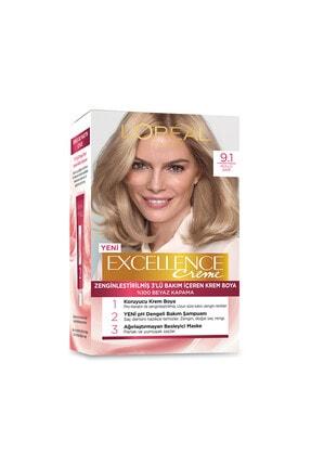 L'Oreal Paris Excellence Creme Saç Boyası 9.1 Sarı Küllü 1
