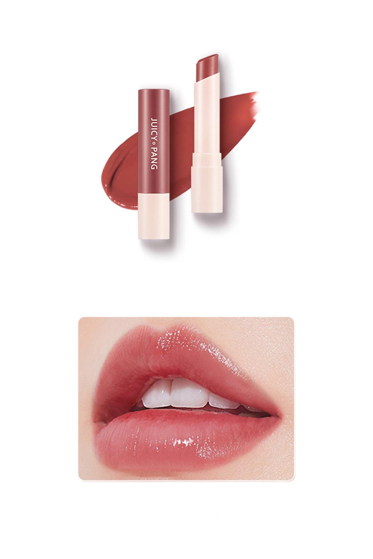 Missha Uzun Süre Kalıcı Canlı Renkli Nemlendirici Dudak Balmı APIEU Juicy-Pang Color Lip Balm (RD02) 0