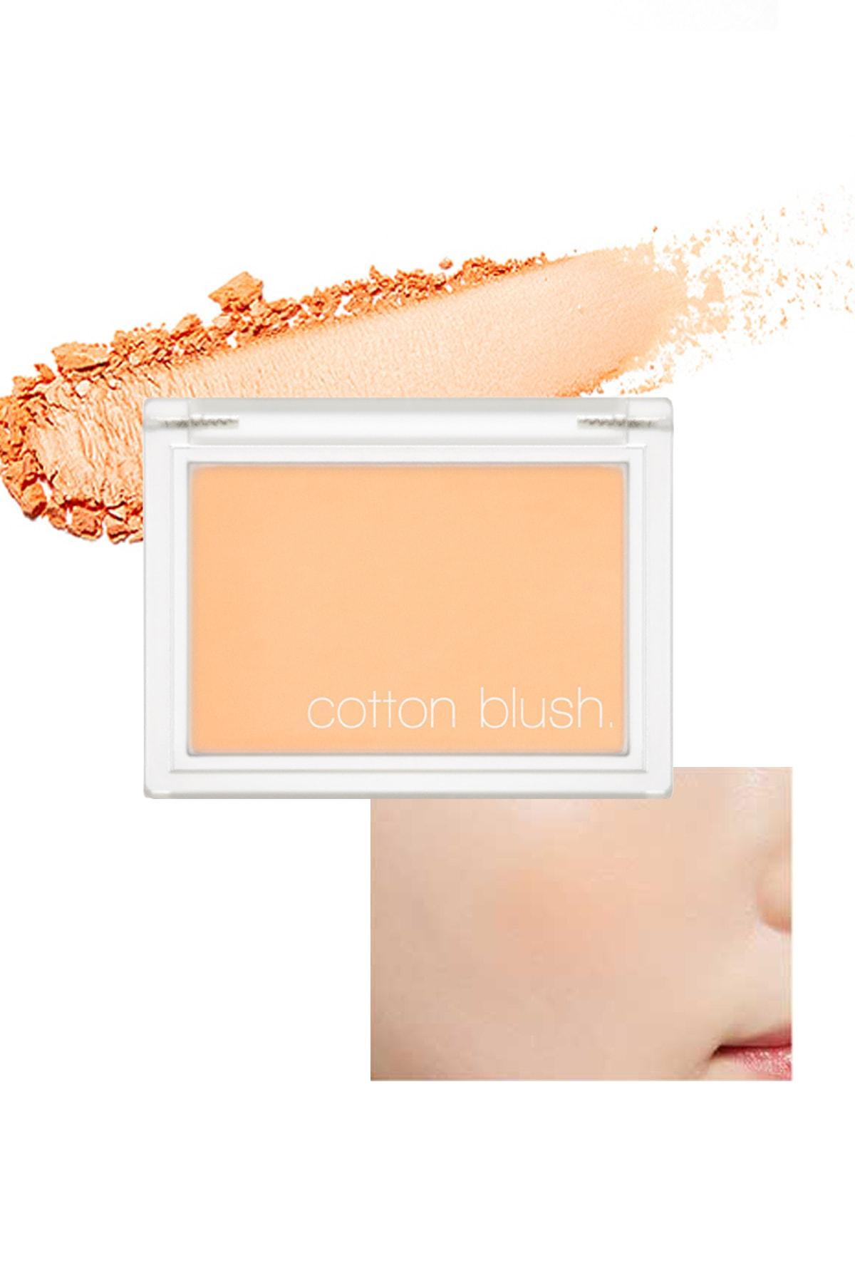 Missha Yumuşak Dokulu Kolay Sürülebilen Allık Cotton Blusher (Mandarine Ade) 0