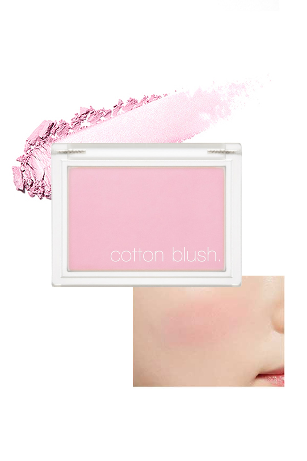 Missha Yumuşak Dokulu Kolay Sürülebilen Allık Cotton Blusher (Lavender Perfume) 0