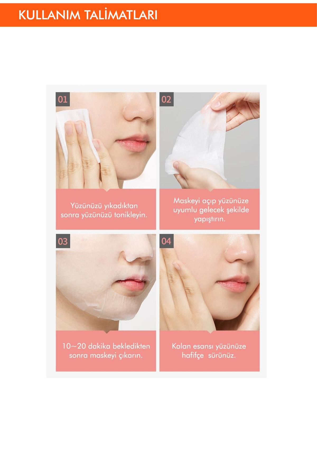 Missha Hassas Ciltler İçin Koruyucu Kalsiyum Özel Bakım Maskesi Cicative Calcium Sheet Mask 3