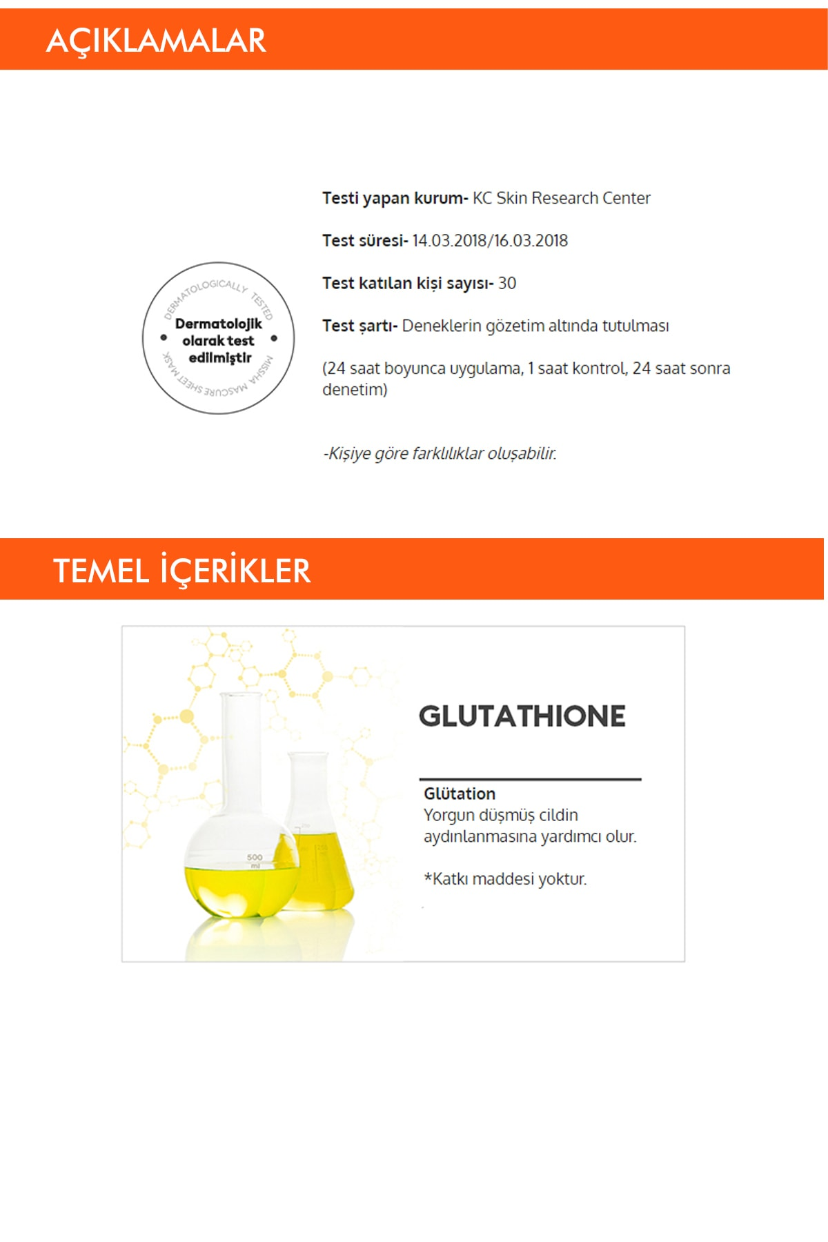 Missha Beyazlatıcı Glutathione Yaprak Maske (1ad) Mascure Whitening Solution Sheet Mask 2