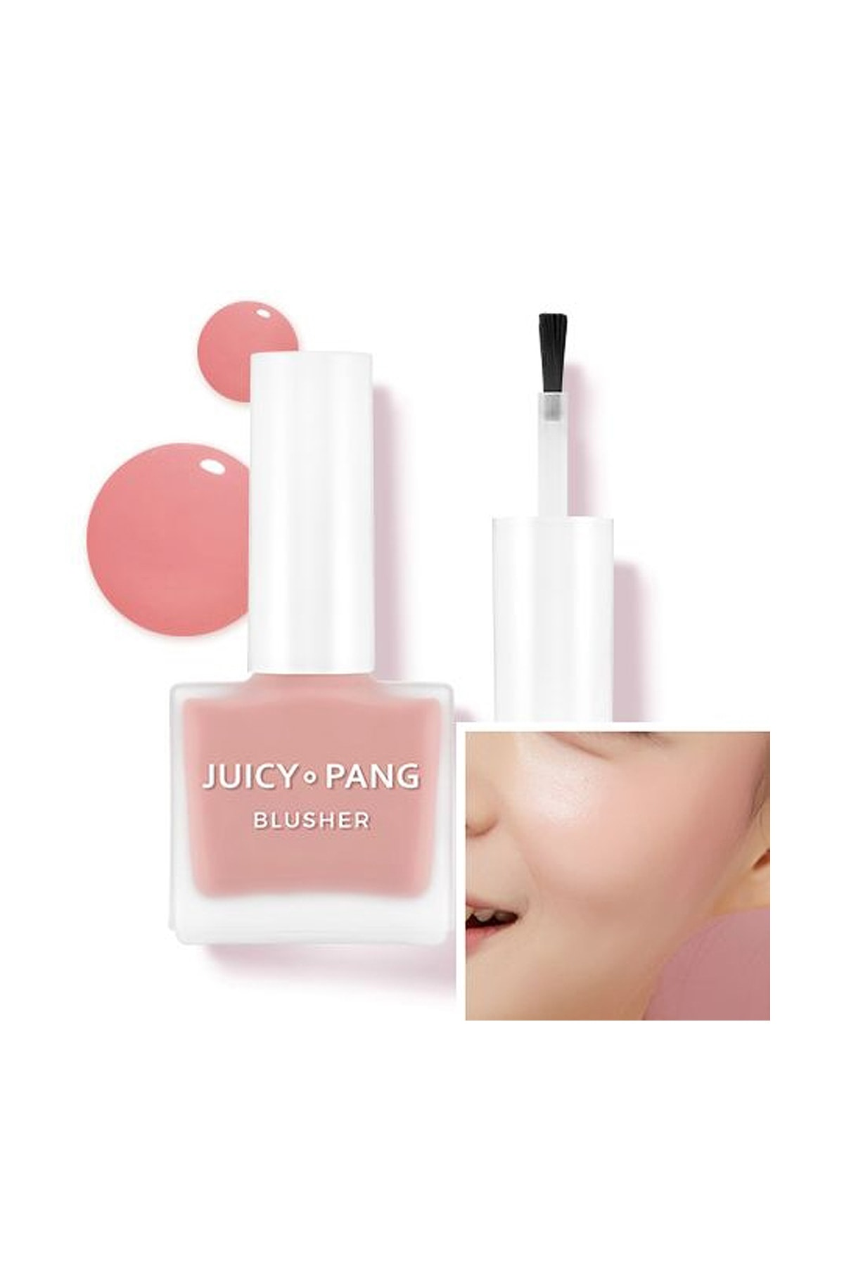 Missha Doğal Görünüm Sunan Nemlendirici Likit Allık 9g. APIEU Juicy-Pang Water Blusher (PK03) 0
