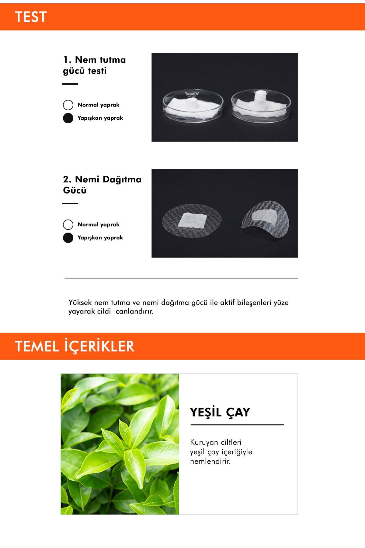 Missha Yeşil Çaylı Yatıştırıcı ve Nemlendirici Yaprak Maske (1ad) Airy Fit Sheet Mask Green Tea 3