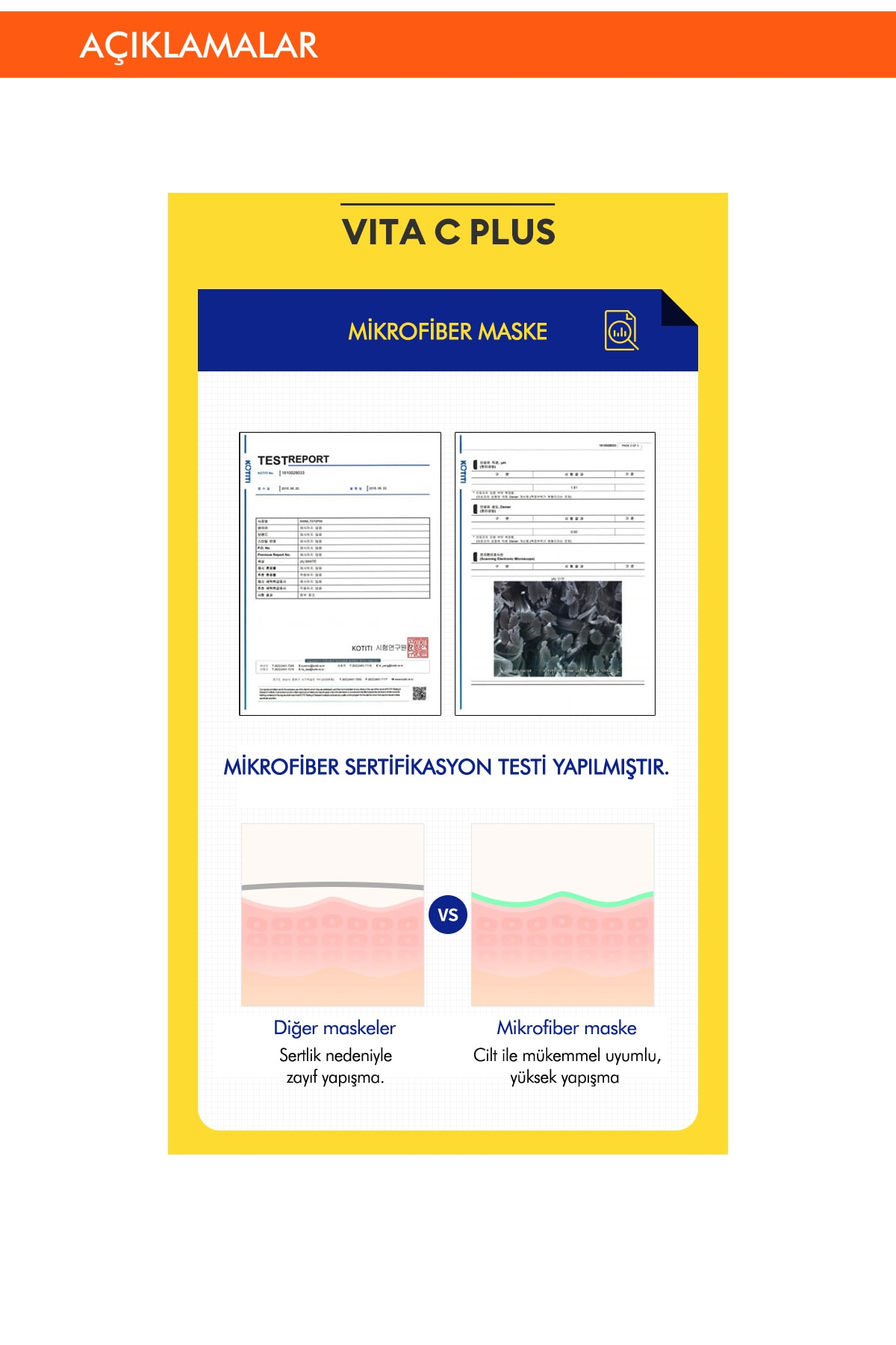 Missha Leke Karşıtı C Vitamini İçerikli Yaprak Maske 1ad. Vita C Plus Spot Correcting Ampoule Sheet Mask 4