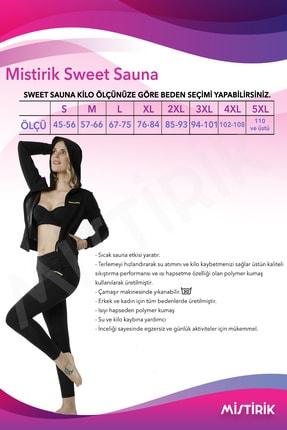 Marketimgel Sweet Sauna Termal Kapşonlu Ve Tayt Yağ Yakıcı %100 ORJİNAL 4
