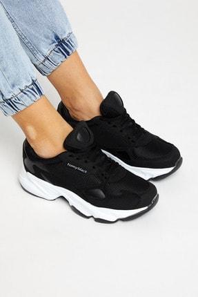 Tonny Black Siyah Beyaz Unisex Sneaker ZHR-0 1