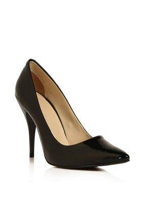 RUBRICA Kadın Siyah Rugan Stiletto Ma-021 3