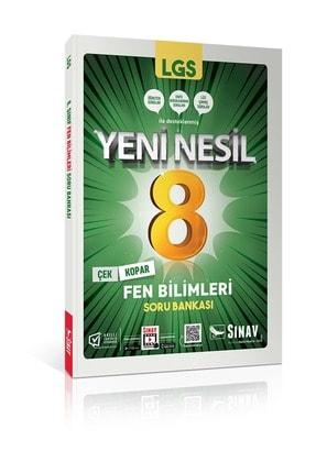 Sınav Yayınları 8. Sınıf Yeni Nesil Lgs Fen Bilimleri Soru Bankası 0