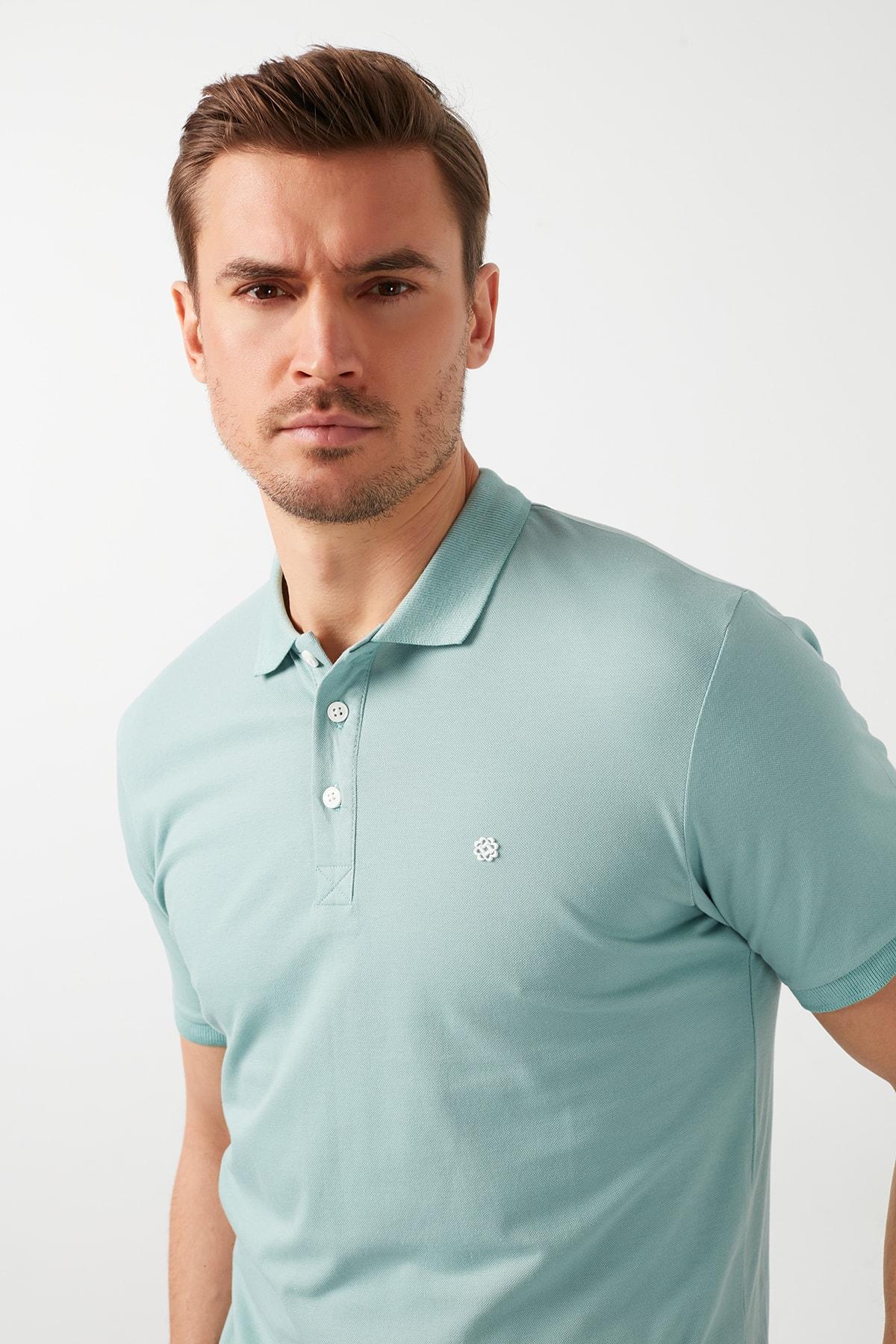Buratti Pamuklu Düğmeli Polo T Shirt 0438101 0