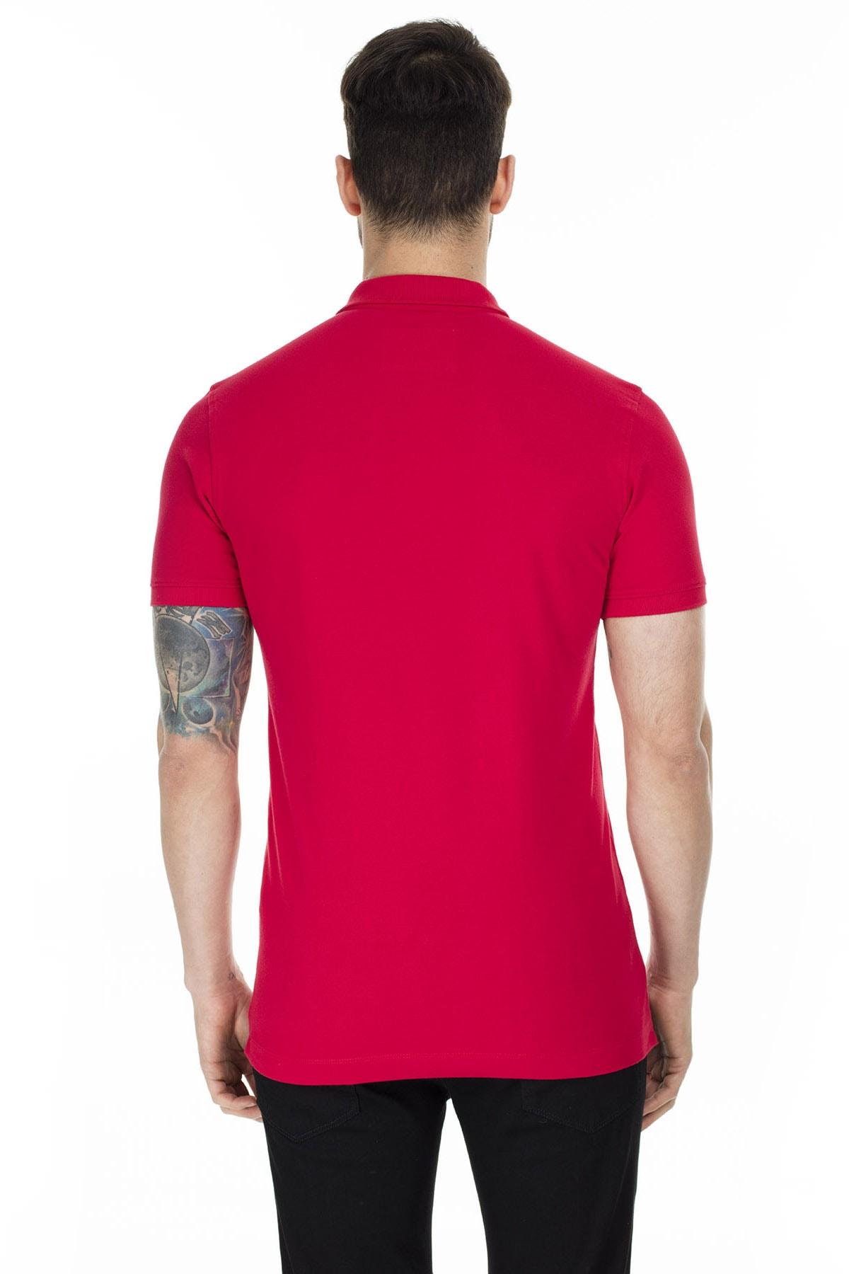 Lufian Laon Spor Polo T- Shirt Kırmızı 1