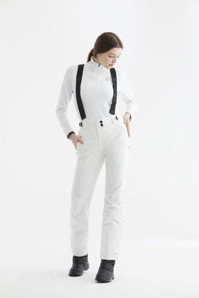 Panthzer Sassy Kadın Kayak Pantolonu Beyaz 0
