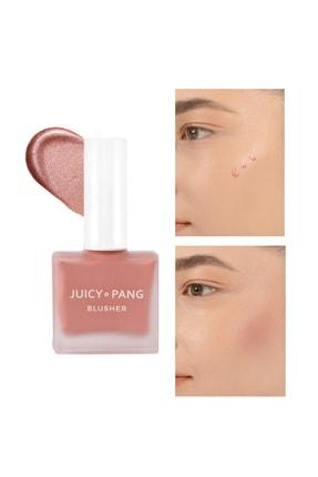 Missha Işıltılı Gül Kurusu Likit Allık – Parlak Görünümlü Apieu Juicy Pang Blusher Rose Dust (SPK01) 0