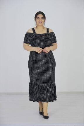 Kadın Büyük Beden Giyim Elbise ES557