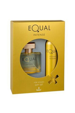 Equal Intense Edt 75 ml + 150 ml Deodorant Kadın Parfüm Seti  8690973028709 0