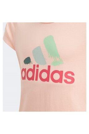 adidas Çocuk Pembe Antrenman Tişörtü 2