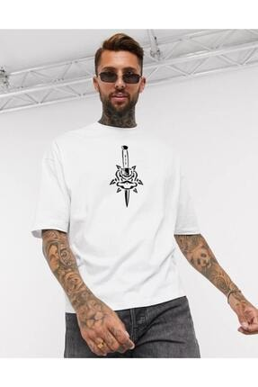 Oksit Chapter Skullcracked Unisex Oversize Tshirt 1