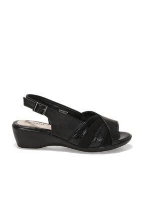 Polaris 162026.Z1FX Siyah Kadın Sandalet 101020215 1