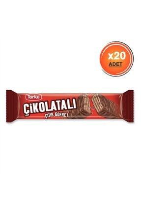 Torku Çikolatalı Gofret 30 gr X20 0