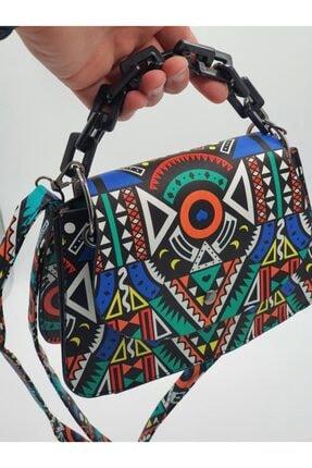 eblack Kadın Renkli  Çanta 0