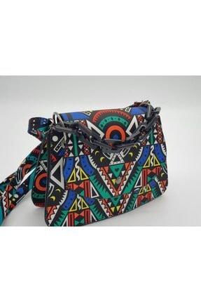 eblack Kadın Renkli  Çanta 1