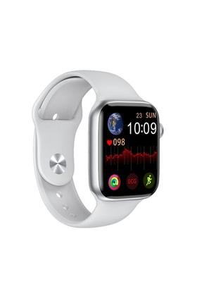 Black Dice Iphone Ve Android Uyumlu Watch 6 Plus Son Nesil Beyaz Yan Düğme Ileri Geri Ve Yakınlaştırma Aktif 0