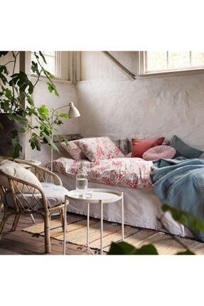 IKEA Çift Kişilik Nevresim Takımı, Çok Renkli Meridyendukkan 240x220/50x60 Cm %100 Pamuk 3
