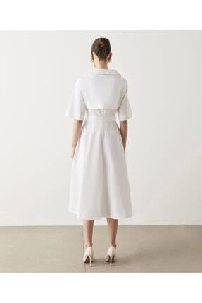 İpekyol Kuşaklı Poplin Elbise 4
