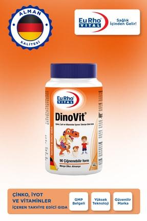 Eurho Vital Dinovit 90 Çiğnenebilir Tablet - Portakal 2