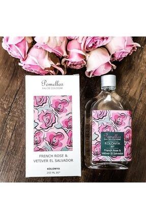Pomellos Kolonya - French Rose & Vetıver El Salvador (250 Ml, Cam Şişe, 80 Derece) 1