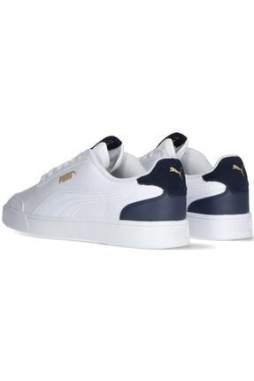 Puma SHUFFLE Beyaz Kadın Sneaker Ayakkabı 101085532 4