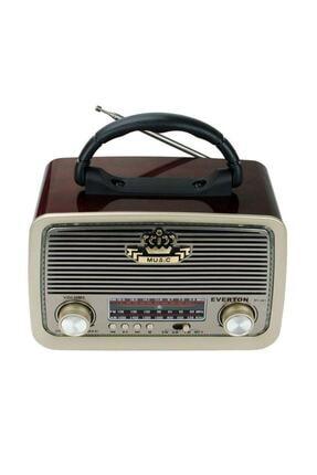 Everon Everton Rt-301 Nostalji Bluetooth Radyo ,usb, Sd , Mp3 Player 0