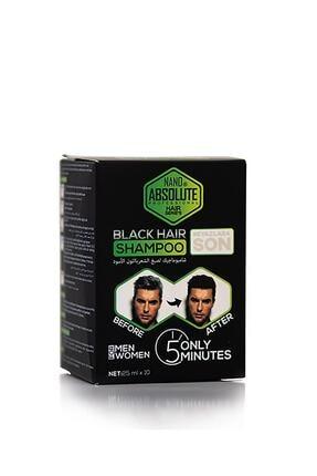 Nano Absolute Siyah Şampuan 25ml X 10 Adet 0