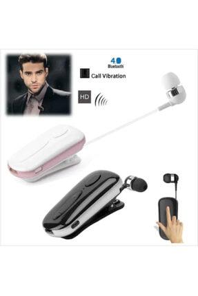 Tiegem Bluetooth 4.0 Makaralı Streo Headset Mikrofonlu Kulaklık Beyaz 1