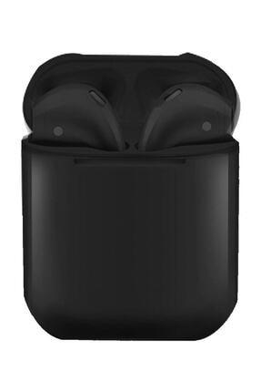 Tws Siyah  I12 Bluetooth Kulaklık 0