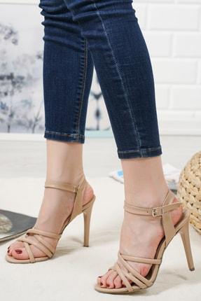 haylaz totti Nude Renk Topuklu Ayakkabı 1
