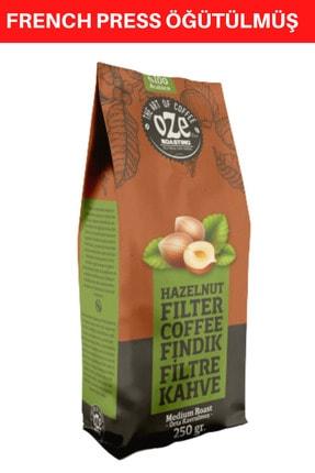 Oze Fındık Aromalı Filtre Kahve 250 Gr. ( French Press Için Öğütülmüş ) 0