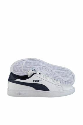 Puma Smash V2 L Jr Beyaz Kadın Sneaker 100346458 0