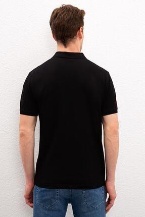 US Polo Assn Sıyah Erkek T-Shirt 2