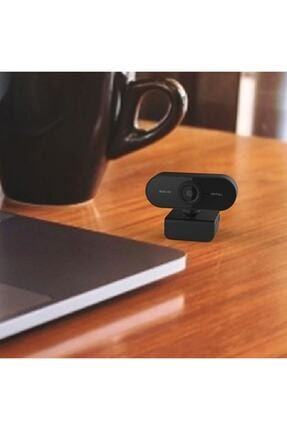 TeknoExpress Uzaktan Eğitim Için Full Hd 1080p Çözünürlük Mikrofonlu Bilgisayar Kamerası Webcam 0