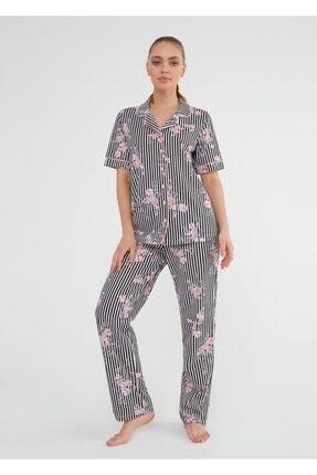 Suwen Martina Maskulen Pijama Takımı 0