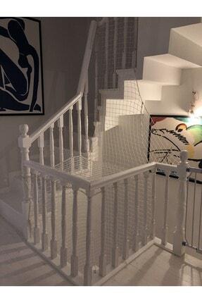 Nodes 150*150cm - Güvenlik - Balkon - Kedi - Saha Filesi - Profesyonel - Beyaz 2