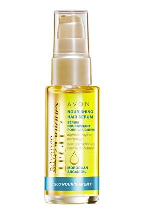 Avon Fas Argan Yağı Serum Ve Çikolata Brezilya Fındığı Saç Maskesi Paketi 1